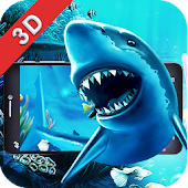 Sea World Shark 3D Theme