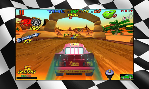 Mcqueen Car Racing Game for PC