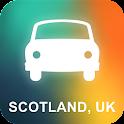 Scotland, UK GPS Navigation icon