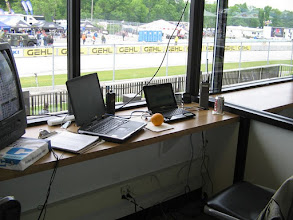 Photo: Working scoreboard at the track.
