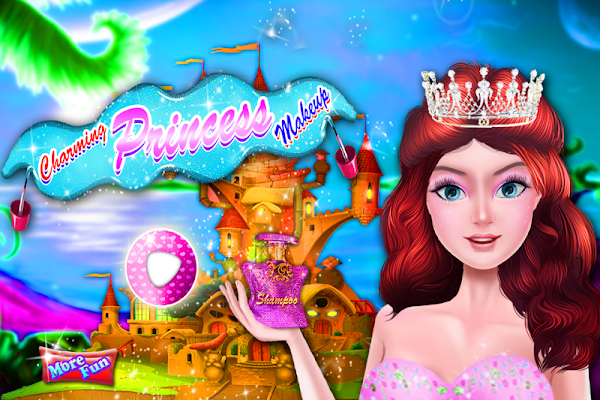 Charming Princess Makeup - screenshot