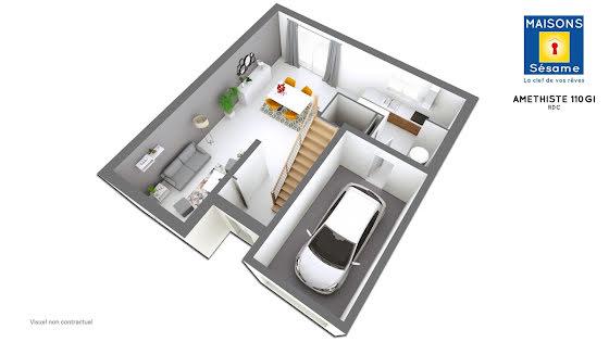 Vente terrain à bâtir 382 m2