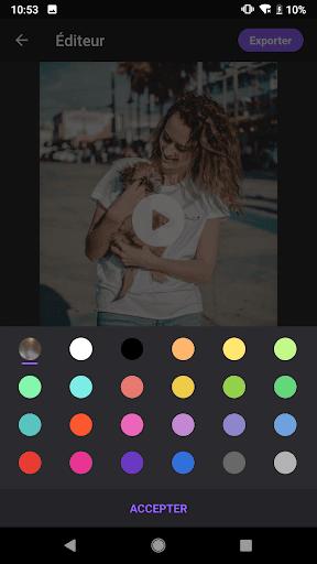 Créateur vidéo de photos avec musique screenshot 9