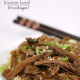 Slow Cooker Korean Beef.