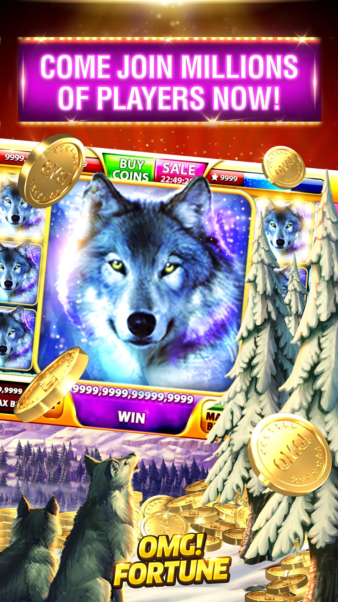 OMG! Fortune Free Slots Casino screenshot #2