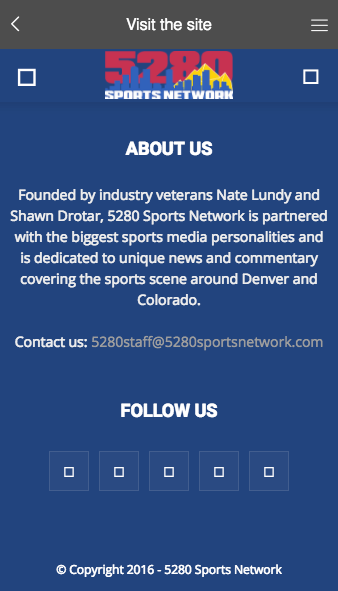 5280 Sports Network- screenshot