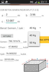 Kalkulator Semen - náhled