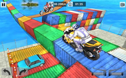 Bike Stunt Mega Tracks: Sky Ramp 1.0 screenshots 11