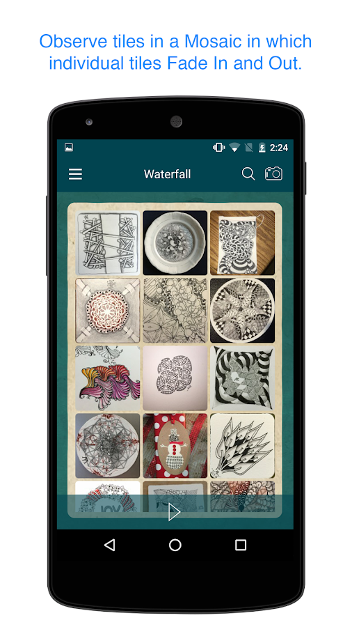 Zentangle Mosaic- screenshot