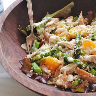 Chicken, Asparagus, Tangerine and Quinoa Salad Recipe