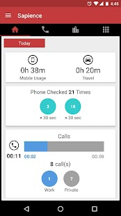 Auto Time Tracker - Sapience- screenshot thumbnail