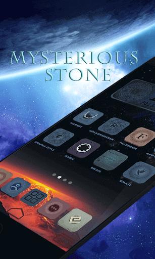 MysteriousStoneGOLauncherTheme
