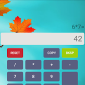 Autumn Calculator