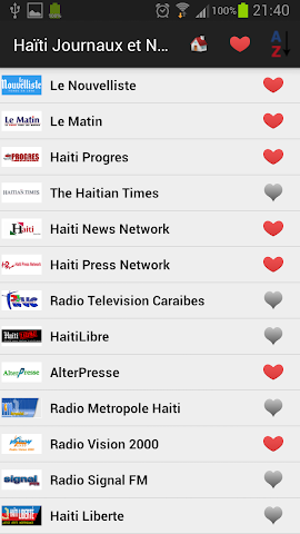 android Haiti Daily Newspapers Screenshot 0