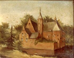 Photo: 1850 Schilderij Kasteel Emer