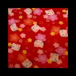 Photo: *Hello Kitty Sakura* *hard to find fabric