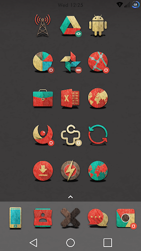 Retron-UI Icon Pack screenshot 9