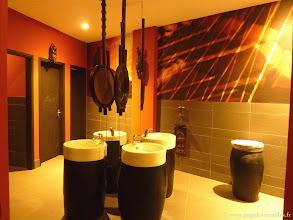Photo: #013-Les toilettes du restaurant du Club Med de Cap Skirring