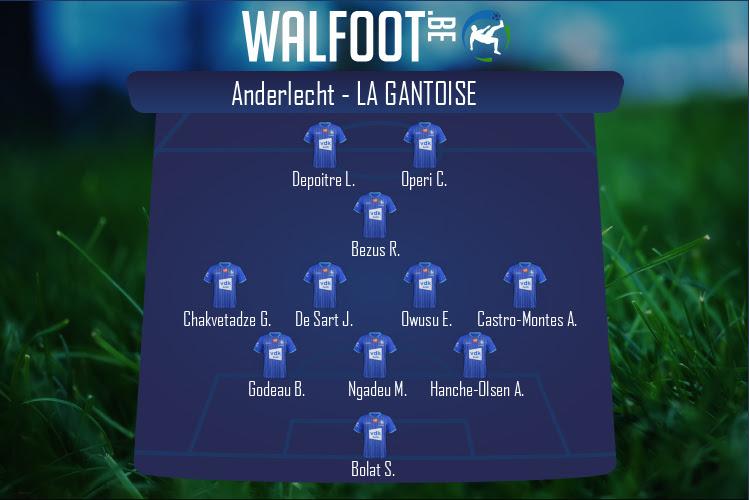 La Gantoise (Anderlecht - La Gantoise)