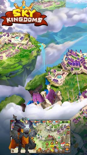 Sky Kingdoms: Dragon War 1.1.0 gameplay   by HackJr.Pw 1