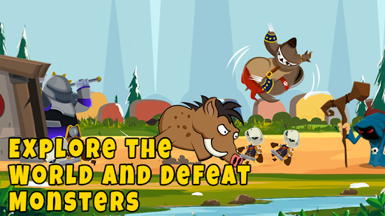 Castle Monsters: Battle of Hero Warriors for PC-Windows 7,8,10 and Mac apk screenshot 2