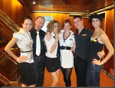 Melody, eu, Sarah, Jaime, Sam e Nicole