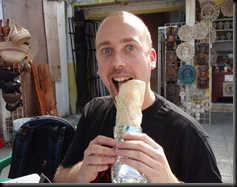 Wendy's Tequilla House - Burrito GIGANTE! Com galinha picante... hmmmm!