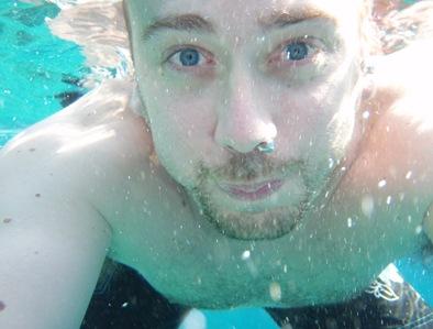 A nadar nestas águas tão quentinhas