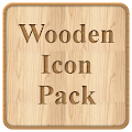 Wooden Icon Pack Pro HD