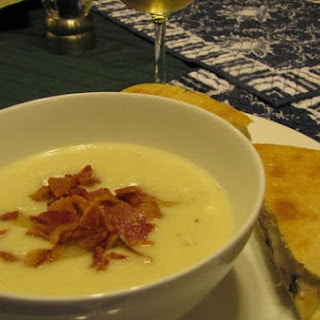Roasted Onion and Gorgonzola Soup