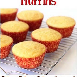 Easy Cornbread Muffins.
