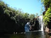 Travel in Australia on a Budget: How to Save Money While Traveling Down Under // Refreshing Swim at Katherine Gorge and Edith Falls in the Nitmiluk National Park