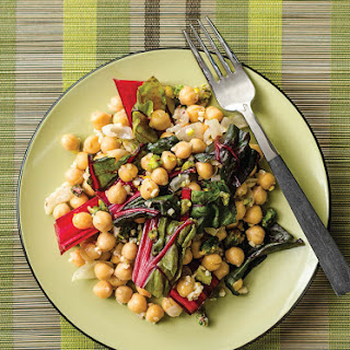 Chard and Chickpeas