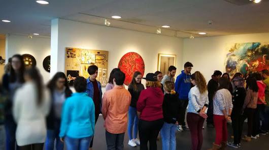 La galería MECA lleva la obra de seis almerienses a París