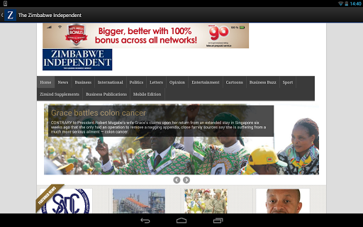 The Zimbabwe Independent  screenshots 10