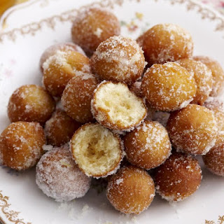 Donuts with Lemon Sugar.