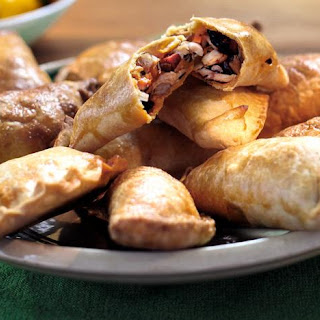 Chicken And Chorizo Empanadas.