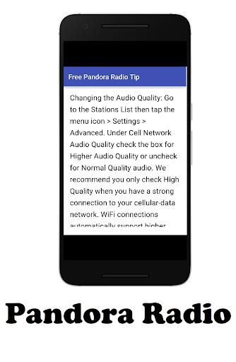 玩免費教育APP|下載Free Pandora Radio Tip app不用錢|硬是要APP