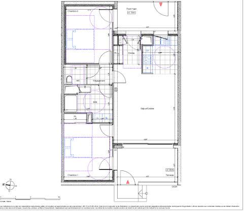 Vente appartement 3 pièces 66,65 m2