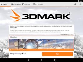 Screenshot of 3DMark - The Gamer's Benchmark