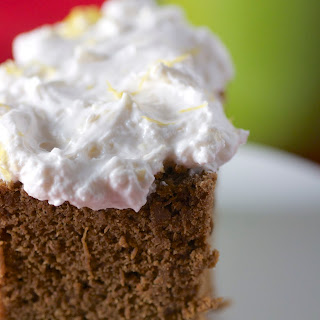 Gingerbread Snack Cakes with Lemon Whipped Frosting