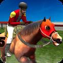 Virtual Horse Run icon
