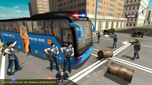 US Police Bus Transport Prison Break Survival Game 4.0 screenshots 1