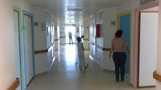 Foto del interior del Hospital Universitario Torrecárdenas de Almería.