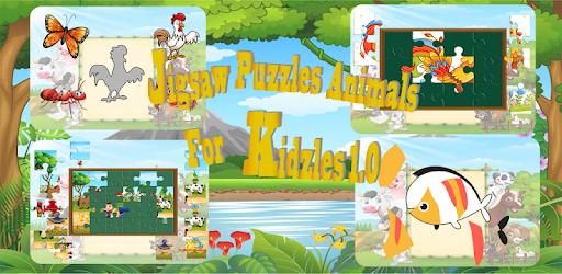 Jigsaw Puzzle Animal Game For Kids Aplikasi Di Google Play