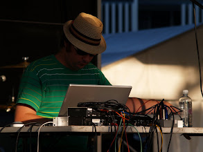 Photo: Victor Xray at Upgrade. Photo by Dennis Remmer.