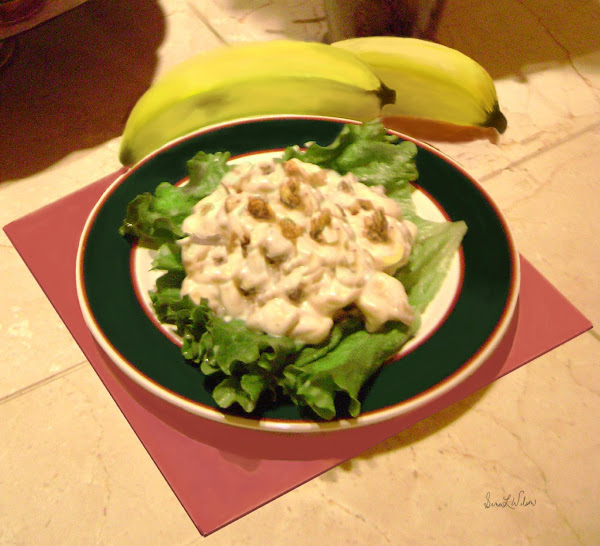Banana Nut Salad Recipe