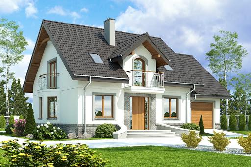 projekt Dom Dla Ciebie 3 z garażem 1-st. A