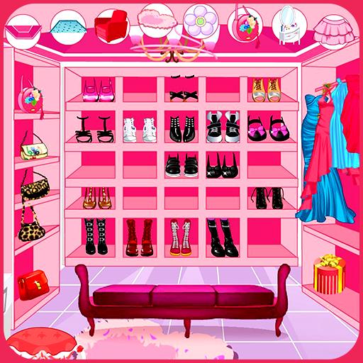 Decorate your walk-in closet Icon