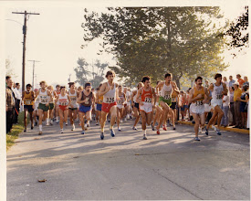 Photo: 1973 Charleston 15 Mile Run, starting line
